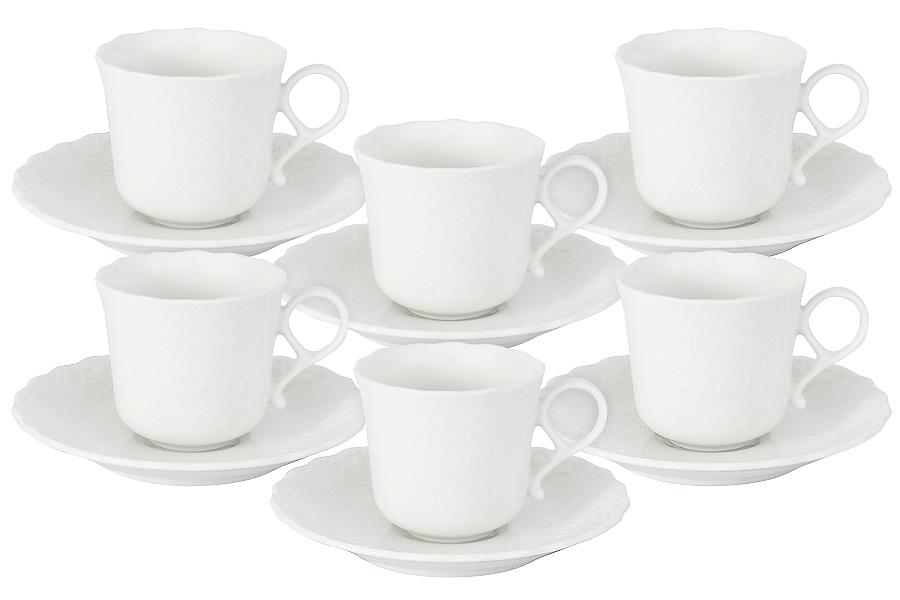 Набор кофейных пар ШЕЛК