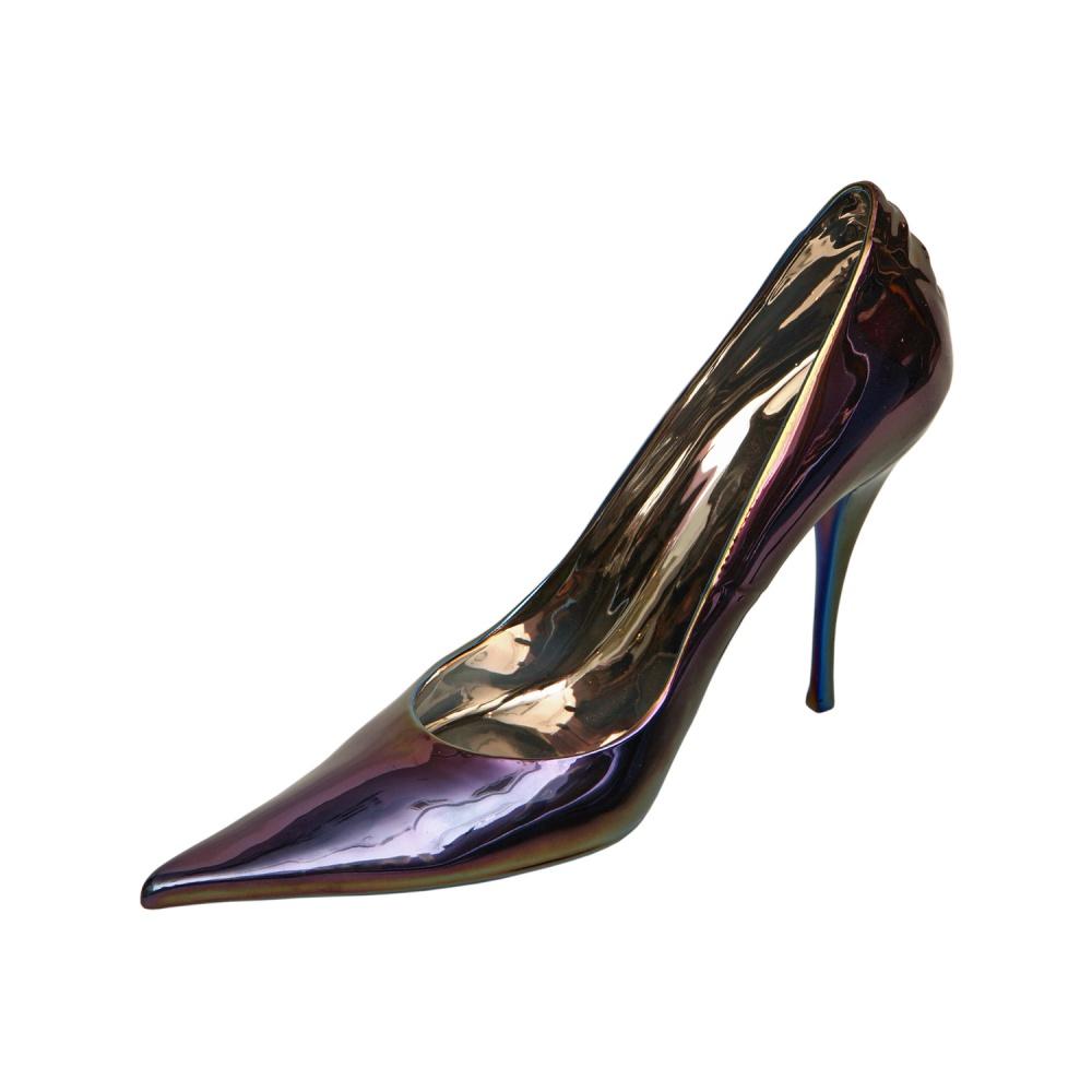"Фигурка туфельки от Rudolf Kampf, цвет - ""хамелеон"""