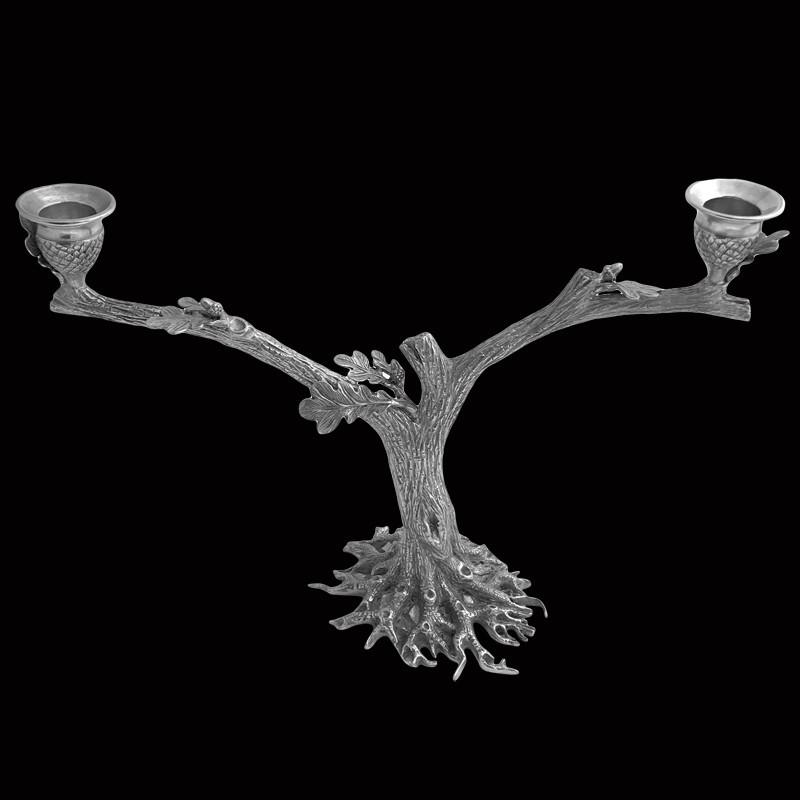 Подсвечник в виде ветви дуба от Au Bain Marie