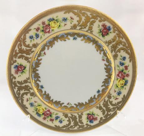 Набор фарфоровых тарелок 17 см VIENNA CREME GOLD от Falkenporzellan, 6 шт.