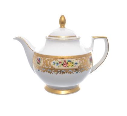 Чайник фарфоровый 1.2 л VIENNA CREME GOLD от Falkenporzellan