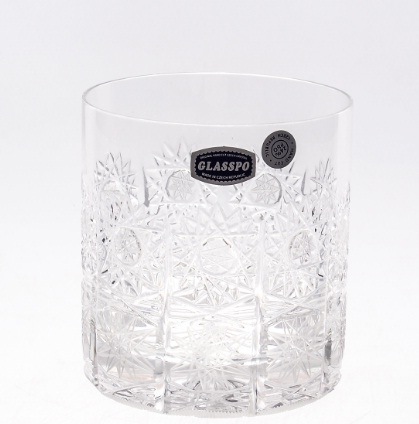 Набор стаканов 330 мл для виски ХРУСТАЛЬ 20260 от Glasspo, 6 шт.