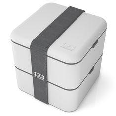 Ланч-бокс mb square светло-серый от Monbento