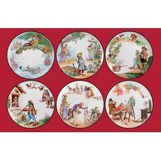 Набор декоративных тарелок ПЕРЕВЕРНУТЫЙ МИР