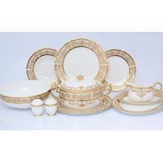 Столовый сервиз GOLDEN ROMANCE CREAM GOLD