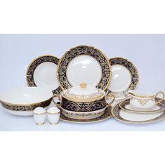 Столовый сервиз CLARICE COBALT GOLD от Prouna