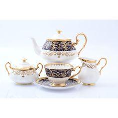 Чайный сервиз CLARICE COBALT GOLD от Prouna