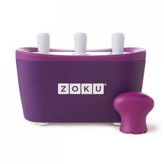 Форма для замороженного сока quick pop maker фиолетовая