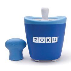 Форма для замороженного сока single quick pop maker синяя