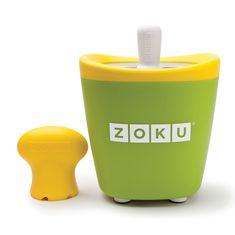 Форма для замороженного сока single quick pop maker зеленая