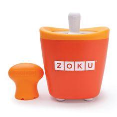 Форма для замороженного сока single quick pop maker оранжевая