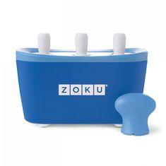 Форма для замороженного сока quick pop maker синяя