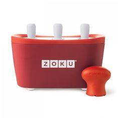 Форма для замороженного сока quick pop maker красная