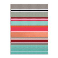 Одеяло вязаное stripes