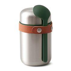 Термос для горячего food flask оливковый