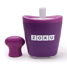 Форма для замороженного сока single quick pop maker фиолетовая