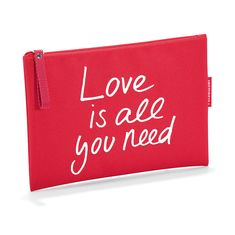 Косметичка case 1 love is all you need от Reisenthel