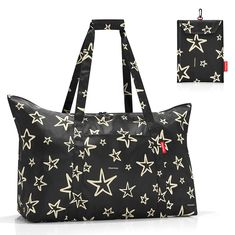 Сумка складная mini maxi travelbag stars от Reisenthel