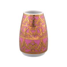 Ваза KELT-2291, бело-розовая с золотом, от Rudolf Kampf
