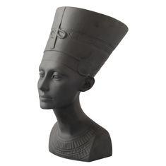 Статуэтка НЕФЕРТИТИ от Rudolf Kampf, цвет - матовый черный