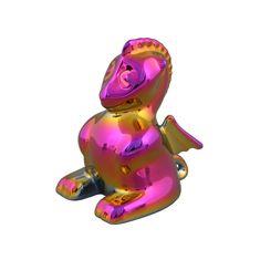 "Фигурка дракона от Rudolf Kampf, цвет - ""хамелеон"""