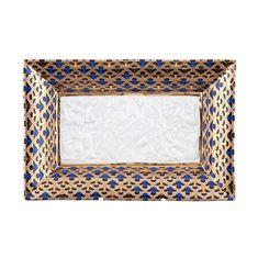 Тарелка прямоугольная с рельефом НАЦИОНАЛЬНЫЕ ТРАДИЦИИ 2075, серия МАРОККО, от Rudolf Kampf