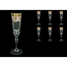 Фужеры для шампанского ADAGIO FLORA'S EMPIRE от Astra Gold