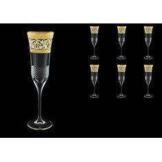 Фужеры для шампанского Fiesole Allegro Golden Light Decor от Astra Gold