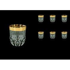 Набор стаканов для виски ADAGIO ANTIQUE GOLDEN CLASSIC DECOR от Astra Gold