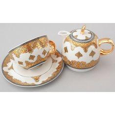 Восточный набор для чая DUO САУДОВСКАЯ АРАВИЯ (оливковый) от Rudolf Kampf