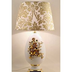 Лампа настольная GOLD FLOWERS от Bruno Costenaro