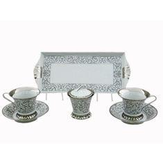 Набор для чая или кофе ТЕТ-А-ТЕТ, коллекция НАЦИОНАЛЬНЫЕ ТРАДИЦИИ, декор ВИЗАНТИЯ (Byzantine) D936, от Rudolf Kampf