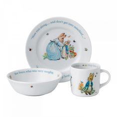 Детский набор КРОЛИК ПИТЕР (Peter Rabbit) от Wedgwood