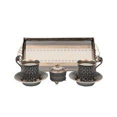 Подарочный набор для чая или кофе ТЕТ-А-ТЕТ, коллекция НАЦИОНАЛЬНЫЕ ТРАДИЦИИ, декор СИРИЯ, от Rudolf Kampf