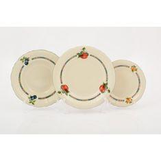 Набор тарелок СОНАТА ФРУКТОВЫЙ САД, слоновая кость, от Leander
