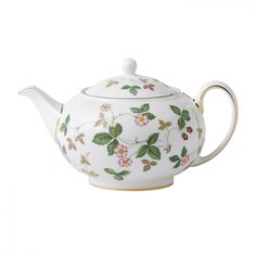 Чайник малый ЗЕМЛЯНИКА (Wild Strawberry) от Wedgwood