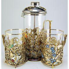 Набор для чая ПОЛЕВЫЕ ЦВЕТЫ от Zlatoust