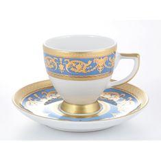 Кофейные пары IMPERIAL BLUE GOLD от Falkenporzellan