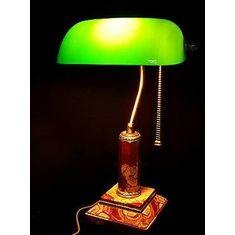 Лампа настольная из яшмы от Zlatoust