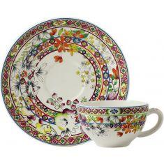 Чашка и блюдце для завтрака БАГАТЕЛЬ от Gien