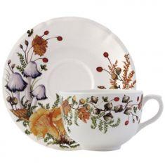 Большая чайная пара ГРИБЫ от Gien