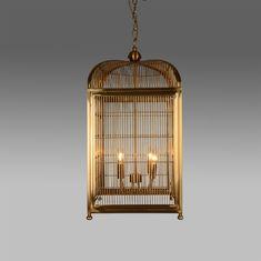 Подвесной светильник в виде птичьей клетки от Roomers