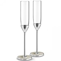 Пара бокалов для шампанского от Wedgwood & Vera Wang