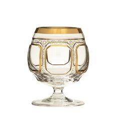 Набор хрустальных бокалов 250 мл АНТИК КЛАССИК от Arnstadt Kristall, 6 шт.