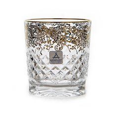 Набор хрустальных стаканов АРАБЕСКИ ГОЛД от Arnstadt Kristall