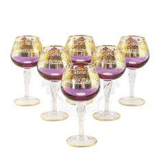 Хрустальные бокалы для коньяка LUCIANA от Migliore