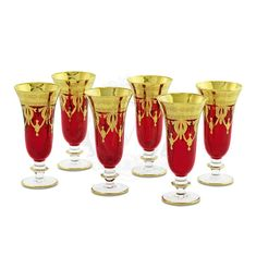 Бокалы для шампанского DINASTIA ROSSO от Migliore