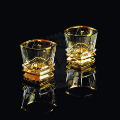 Пара хрустальных бокалов для виски VIKONT от Migliore