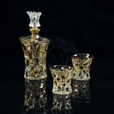 Набор для виски из графина и двух стаканов CASINO от Migliore