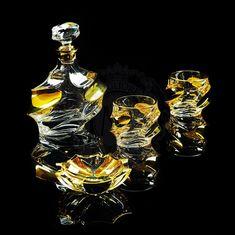 Набор для виски из графина и двух стаканов POCKER от Migliore
